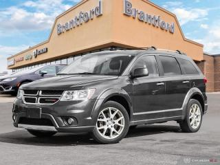 Used 2017 Dodge Journey GT  - Leather Seats -  Bluetooth - $156 B/W for sale in Brantford, ON