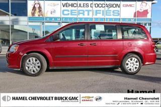 Used 2016 Dodge Grand Caravan 8 PNEUS/8ROUES * BLUETOOTH * 7 PASSAGERS * V6 for sale in St-Léonard, QC