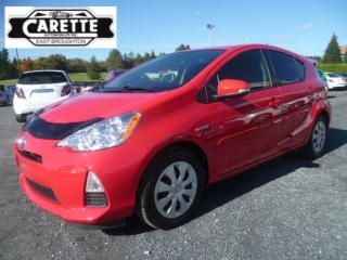 Used 2014 Toyota Prius c Hybrid for sale in East broughton, QC