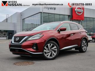 New 2020 Nissan Murano SL  - Navigation -  Sunroof - $294 B/W for sale in Nepean, ON