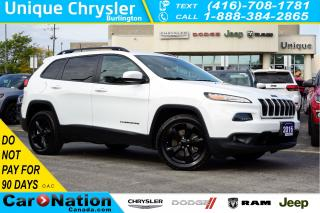 Used 2016 Jeep Cherokee NORTH| ALTITUDE PKG| NAV| REAR CAM| REMOTE START for sale in Burlington, ON