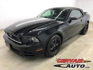 Used 2013 Ford Mustang Convertible V6 Premium MAGS for sale in Trois-Rivières, QC