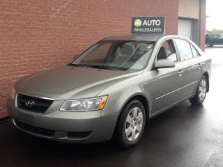 Used 2008 Hyundai Sonata GL THIS WHOLESALE CAR WILL BE SOLD AS-TRADED! INQUIRE FOR MORE! for sale in Charlottetown, PE