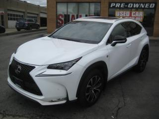 Used 2016 Lexus NX 200t F SPORT SERIES 3 SERVICE RECORDS HUD NAVIGATION for sale in North York, ON