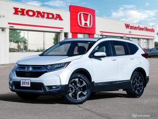 Used 2018 Honda CR-V Touring Bluetooth, Back Up Camera, Navigation, and More! for sale in Waterloo, ON