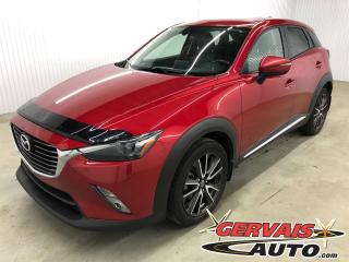 Used 2016 Mazda CX-3 GT AWD GPS Cuir Toit Ouvrant MAGS Bluetooth for sale in Trois-Rivières, QC