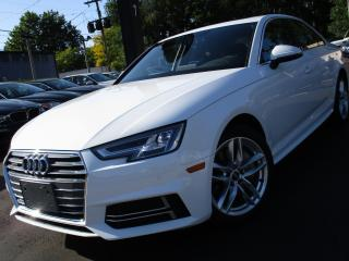 Used 2018 Audi A4 2.0 TECHNIK PKG|NAVIGATION|33,000KM|AUDI WARRANTY for sale in Burlington, ON