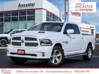 Used 2016 RAM 1500 SPORT - NAVI|LEATHER|SUNROOF|RUNNING BOARDS for sale in Ancaster, ON