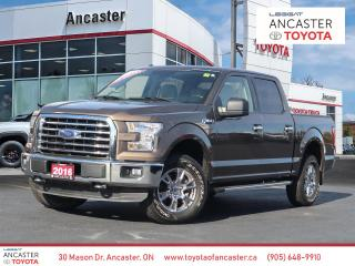 Used 2016 Ford F-150 XLT - 1 OWNER|SUPERCREW|RUNNING BOARDS|ALLOYS for sale in Ancaster, ON