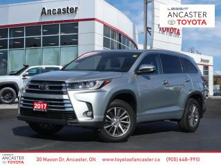 Used 2017 Toyota Highlander XLE - NAVI|LEATHER|SUNROOF|BLUETOOTH for sale in Ancaster, ON