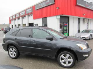 Used 2007 Lexus RX 350 Ultra Premium Package $8,995+HST+LIC FEE / CERTIFIED / NAVIGATION for sale in North York, ON