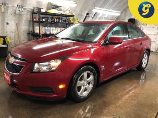 Used 2014 Chevrolet Cruze 2LT * Beige Leather * Power sunroof * Climate control * Power driver seat * Phone connect * Hands free steering wheel controls * Automatic/manual mode for sale in Cambridge, ON