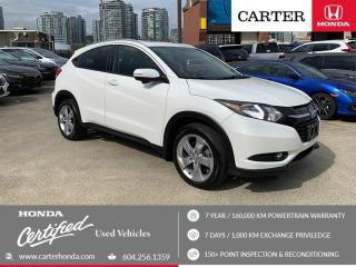 Used 2016 Honda HR-V EX-L CERTIFIED + 7 YEAR/160000KM for sale in Vancouver, BC