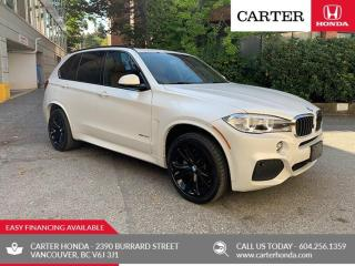 Used 2016 BMW X5 xDrive35d M SPORT + HARMON KARDON + CARTER HONDA CLEAROUT! for sale in Vancouver, BC