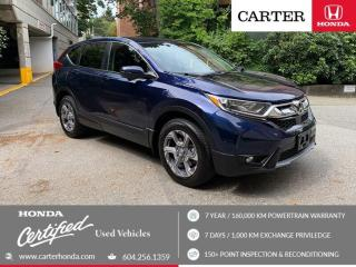 Used 2018 Honda CR-V EX CERTIFIED + CARTER HONDA CLEAROUT! for sale in Vancouver, BC