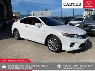 Used 2013 Honda Accord EX-L-NAVI V6 CARTER HONDA CLEAROUT! for sale in Vancouver, BC