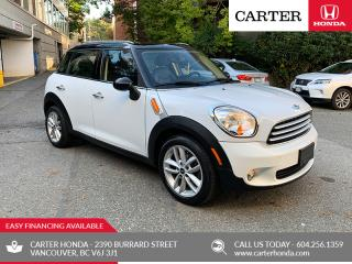 Used 2011 MINI Cooper Countryman CARTER HONDA CLEAROUT! for sale in Vancouver, BC