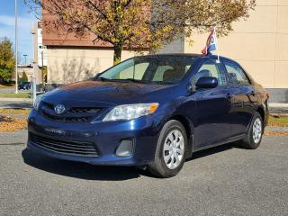 Used 2011 Toyota Corolla CE for sale in Drummondville, QC