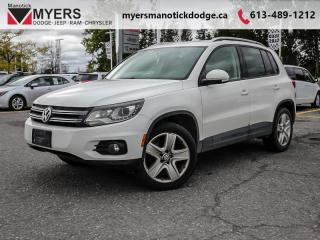Used 2013 Volkswagen Tiguan TRENDLINE  - Aluminum Wheels for sale in Ottawa, ON