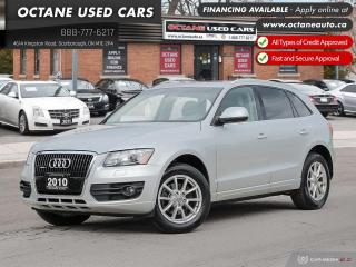 Used 2010 Audi Q5 3.2 Premium Premium Navigation! Certified! for sale in Scarborough, ON