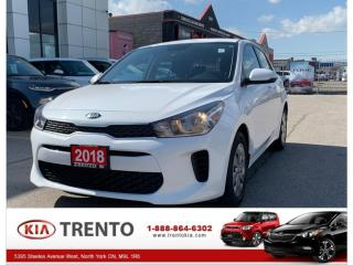 Used 2018 Kia Rio5 LX+ Auto Hatch|R.Cam|Htd Seat & s.wheel|Autolights for sale in North York, ON