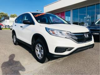 Used 2016 Honda CR-V LX for sale in Lévis, QC