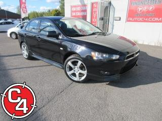 Used 2010 Mitsubishi Lancer GTS  AUTO MAG PNEUS NEUF A/C GR ÉLECT for sale in St-Jérôme, QC