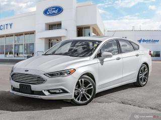 Used 2018 Ford Fusion Titanium for sale in Winnipeg, MB