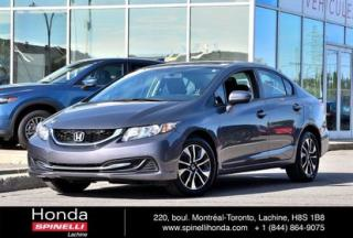 Used 2015 Honda Civic EX DEAL PENDING AUTO TOIT AUTO AC MAGS TOIT OUVRANT CAM RECUL++ for sale in Lachine, QC