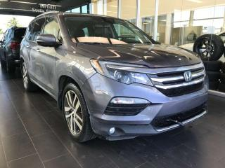 Used 2016 Honda Pilot TOURING AWD, POWER HEATED/VENTED LEATHER SEATS, DVD ENTERTAINMENT SYSTEM, NAVI for sale in Edmonton, AB