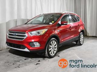 Used 2017 Ford Escape Titanium AWD for sale in Red Deer, AB