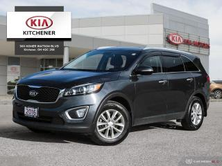Used 2016 Kia Sorento FWD, BALANCE OF FACTORY WARRANTY for sale in Kitchener, ON