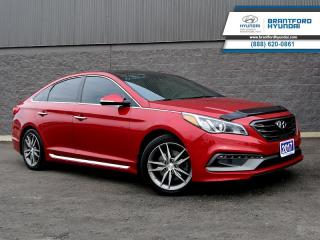 Used 2017 Hyundai Sonata Ultimate 2.0T  - Navigation - $141 B/W for sale in Brantford, ON