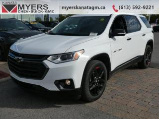 Used 2020 Chevrolet Traverse Premier  - Navigation for sale in Kanata, ON