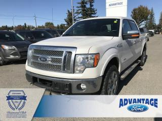 Used 2012 Ford F-150 Lariat Leather Bucket Seats - Cruise Control for sale in Calgary, AB