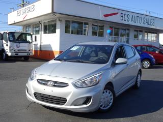 Used 2015 Hyundai Accent GL, Bluetooth, Heated Seats, Value Priced for sale in Vancouver, BC