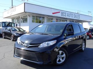 Used 2018 Toyota Sienna 8 Passenger, Power Slide Doors, Bluetooth for sale in Vancouver, BC