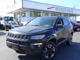 Used 2018 Jeep Compass Trailhawk, Leather, Navigation, Only 10, 862 kms for sale in Vancouver, BC