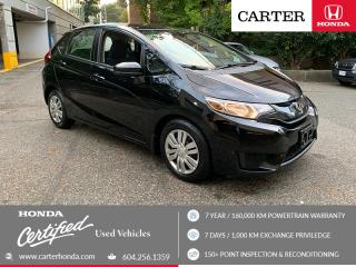 Used 2015 Honda Fit LX CERTIFIED + 7 YEAR/160000KM for sale in Vancouver, BC