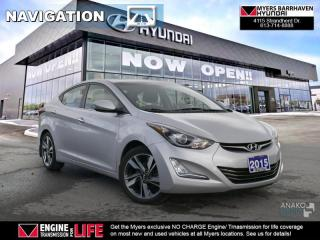 Used 2015 Hyundai Elantra LIMITED W/NAV  - $68.00 /Wk for sale in Nepean, ON