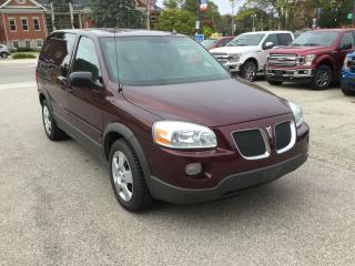 Used 2008 Pontiac Montana SV6 | 7 Seater | AS IS for sale in Harriston, ON