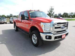 Used 2016 Ford F-250 XLT. Diesel. Crew. 4X4. Loaded for sale in Gorrie, ON