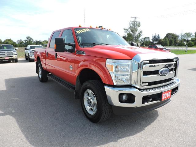 2016 Ford F-250 XLT. Diesel. Crew. 4X4. Loaded