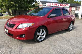 Used 2010 Toyota Corolla Automatic/Comes Certified/All Power Options for sale in Scarborough, ON