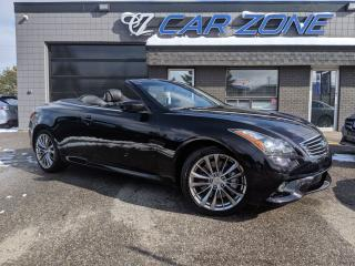 Used 2012 Infiniti G37 Sport Convertible for sale in Calgary, AB