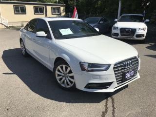Used 2013 Audi A4 Premium for sale in Mississauga, ON