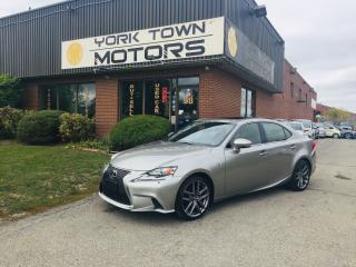 Used 2015 Lexus IS 250 F-Sport/AWD/Red-Int/Nav/RCam/H.Seats/1Owner/NoAcc for sale in North York, ON
