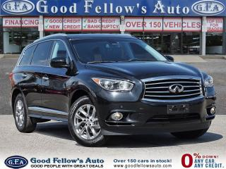Used 2015 Infiniti QX60 7 PASS, POWER SEATS, 6CYL 3.5L, AWD, NAVIGATION for sale in Toronto, ON