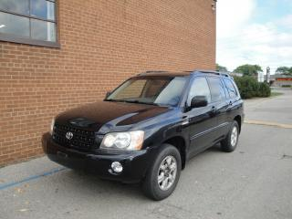 Used 2003 Toyota Highlander LEATHER /SUNROOF/ for sale in Oakville, ON
