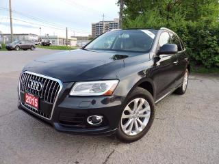 Used 2015 Audi Q5 Technik Quattro/Pano/Navigation/RevCam/BlindSpot for sale in BRAMPTON, ON